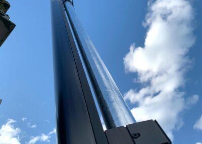 Barriera a infrarossi protezione di un impianto fotovoltaico a Luzzara | SITIP SECURITY