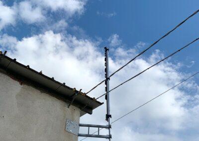 Barriera Infrarossi per la protezione di impianto fotovoltaico a Luzzara | SITIP SECURITY