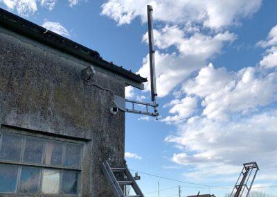 Protezione di un impianto fotovoltaico con barriera a infrarossi | SITIP SECURITY