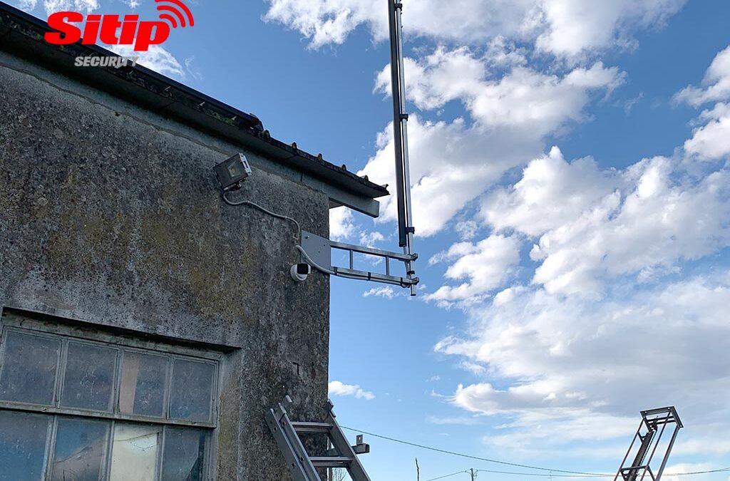 Impianto di protezione pannelli fotovoltaici a Luzzara, Reggio Emilia
