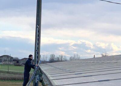 Installazione barriera a infrarossi | SITIP SECURITY