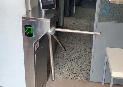Installazione Sistema di Contorllo Accessi con Termo Scanner ScanFace, Pistoia | SITIP SECURITY