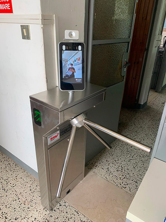 Sicurezza Aziendale con ScanFace Touchless | SITIP SECURITY
