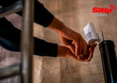 Montaggio Sensore Rivelazione Incendio a Gualteiri | SITIP SECURITY