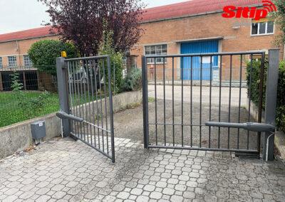 Cancello Automatico a Battente, Brescia   SITIP SECURITY