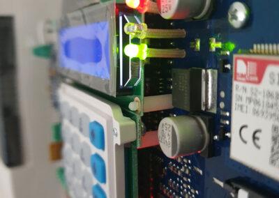 Interno centralina Impianto d'Allarme Antintrusione | SITIP SECURITY