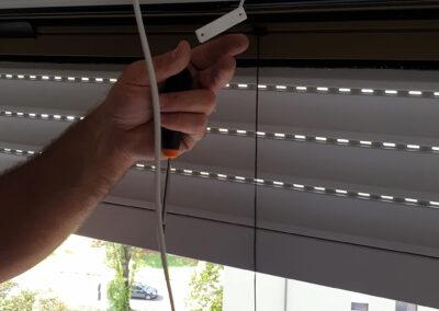 Sensore Installato sulla Tapparella, Verona | SITIP SECURITY