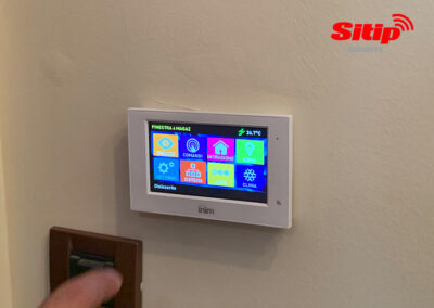 Interfaccia Touch Screen Impiano di Allarme a Bergamo | SITIP SECURITY